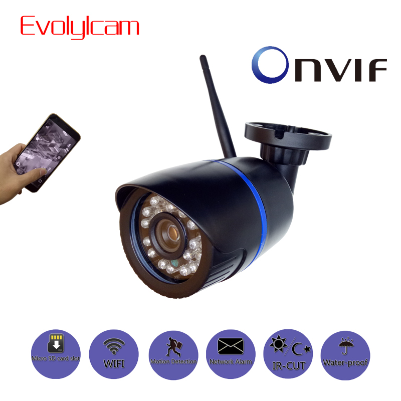 P2P Evolylcam HD 1080 P Câmera IP Sem Fio Wi-fi 720 P Onvif 960 P CCTV Segurança Vigilância Com Micro SD /Slot Para Cartão TF CamHi Cam