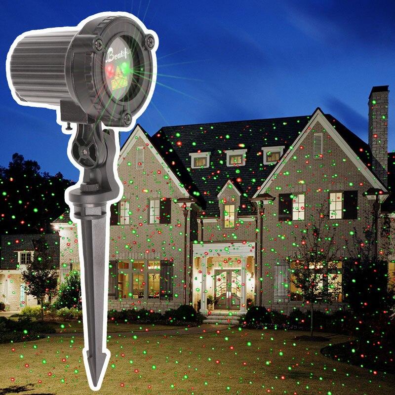Acheter 2018 Étoiles Lumières De Noël En Plein Air Projecteur Laser Douches De  Noël Arbre Lumière Nouvel An Vacances Décorations pour La Maison Pas Cher  ... 224a26ef6964