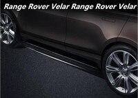 JIOYNG Araba Alüminyum alaşım Koşu Kurulu Yan Basamak Nerf Bar Pedalı 17 18 Land Rover Range Rover için Velar tarafından 2017 2018 Fedex