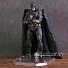 Mafex nr 056 liga sprawiedliwości Bruce Wayne PVC figurka Model kolekcjonerski