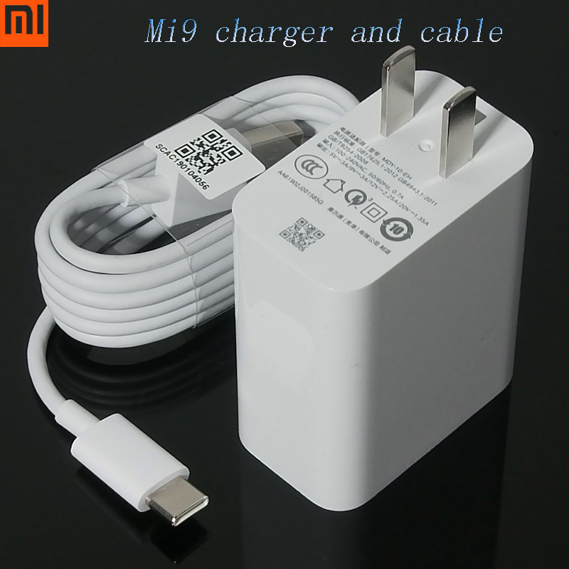 Audacious 100% Original Xiaomi Mi9 Se Fast Wall Charger Qc 4.0 27w Fast Charger Adapter 100cm Usb 3.1 Data Cable For Mi 8 7 F1 Mix 2 2s 3 Mobile Phone Accessories