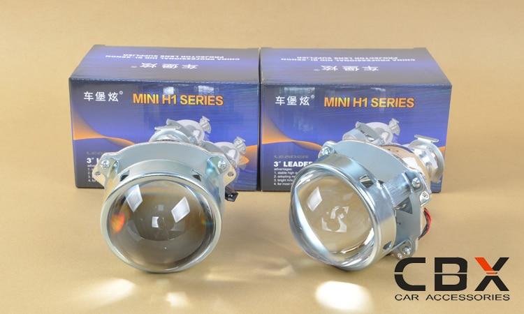 3.0 WST Bi Xenon Lensa Proyektor Jenis Perak Mengkilap Menggunakan - Lampu mobil - Foto 2