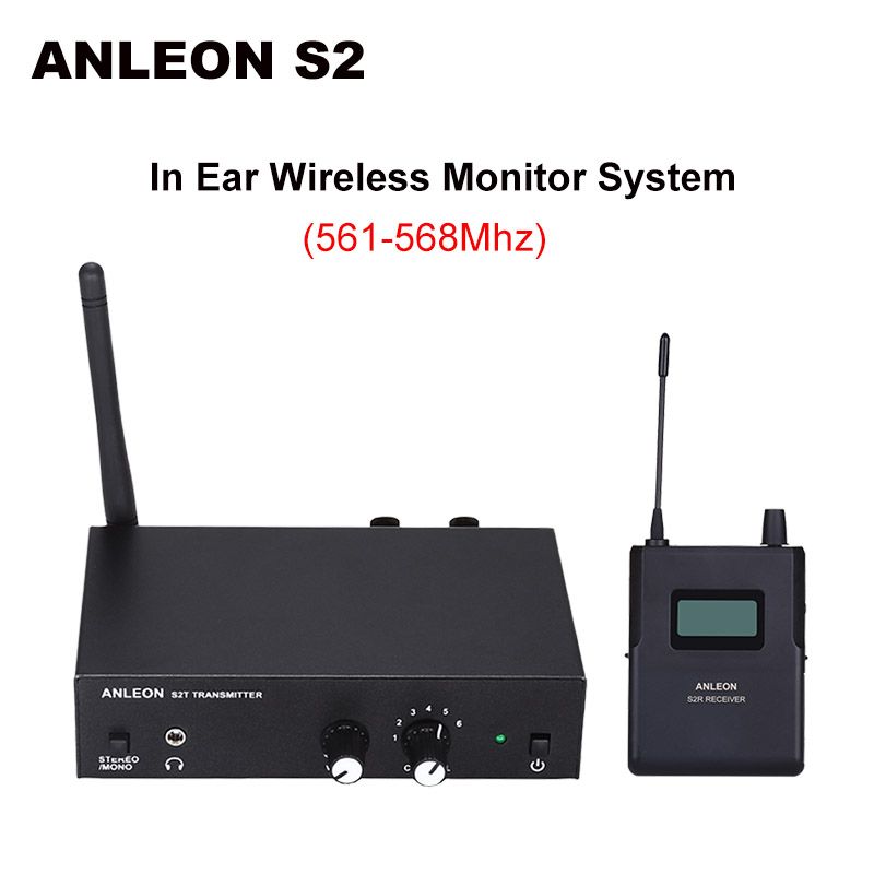 For ANLEON S2 Wireless In-ear Monitor System UHF Stereo IEM System Stage Monitoring 561-568Mhz NTC Antenna XiomiFor ANLEON S2 Wireless In-ear Monitor System UHF Stereo IEM System Stage Monitoring 561-568Mhz NTC Antenna Xiomi