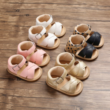 Spring and Autumn 0-1 years old female baby rubber bottom non-slip baby