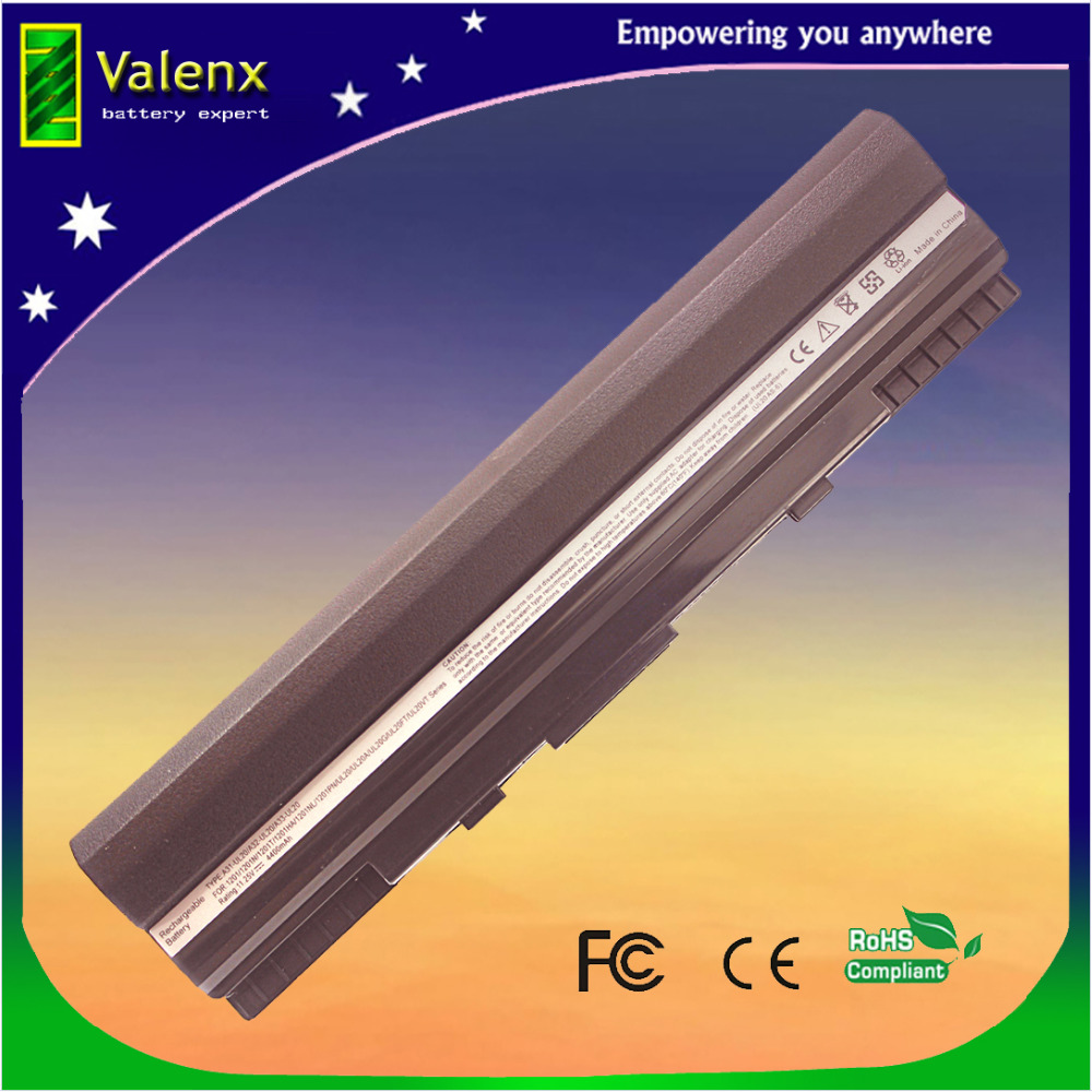 batería aptop para Asus Eee PC 1201 1201HA 1201N 1201T UL20 UL20A UL20G UL20VT UL20FT 90-NX62B2000Y A32-UL20 11.25V