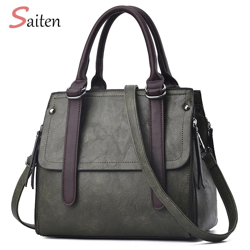 New Fashion Shoulder Bag Women Leather Handbags PU High Quality Vintage Bags Handbags Women Famous Brand Bolsos Bandolera Mujer стоимость