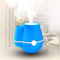 Mini USB Air Ultrasonic Humidifier Air Purifier Mist Maker Vase Perfume Aroma Diffuser Atomizer For Home