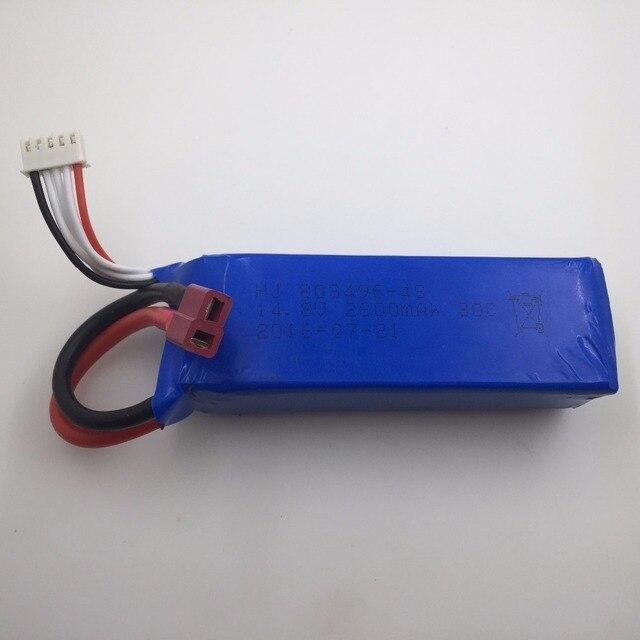 14.8 В 2800 мАч для Feilun FT011 батареи Жестокие Запчасти батареи бесплатная доставка