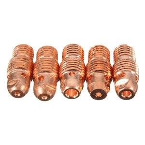 Image 5 - 46 個 tig ガスレンズコレットボディ盛り合わせサイズキット tig 溶接トーチ sr WP9 20 25 tig 溶接トーチツールセット