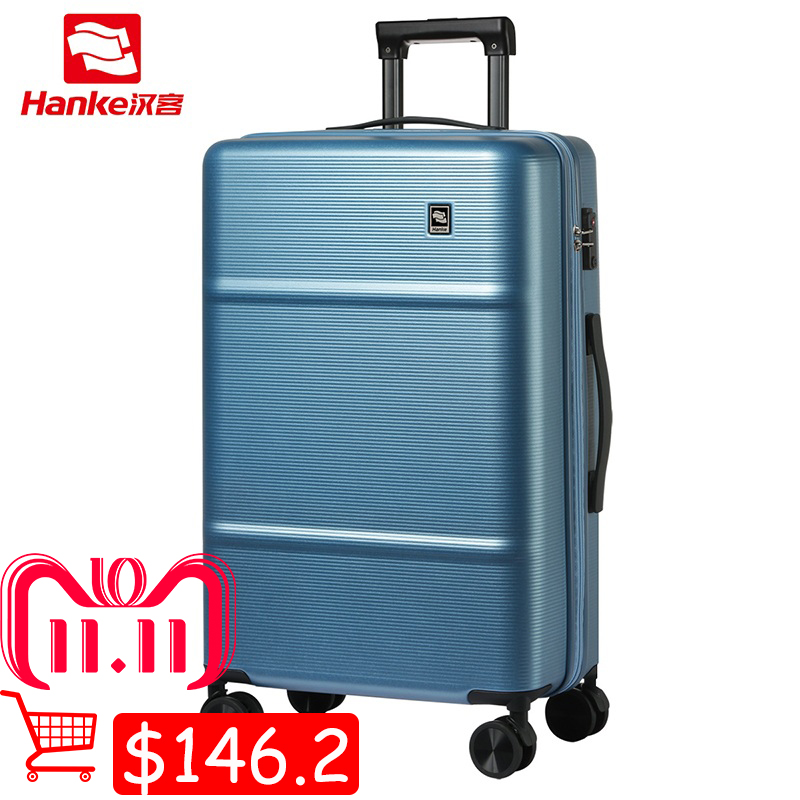 цена на Hanke TSA Lock Hardside Rolling Luggage Suitcase 20 Inch Female Women Spinner Trolley Carry-Ons Men Boarding Travel Case H9812