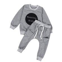 6e1f690cf Niño niños bebé niñas traje de los niños ropa carters oficial tienda de  camiseta de manga larga Tops + Pantalones 1 Set JAN11