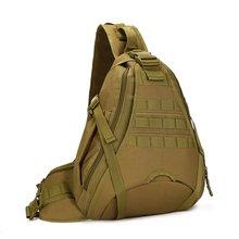 Tactical Sling Chest Pack Bag Molle Daypack Laptop Backpack Large Shoulder Bag Crossbody Duty Gear For