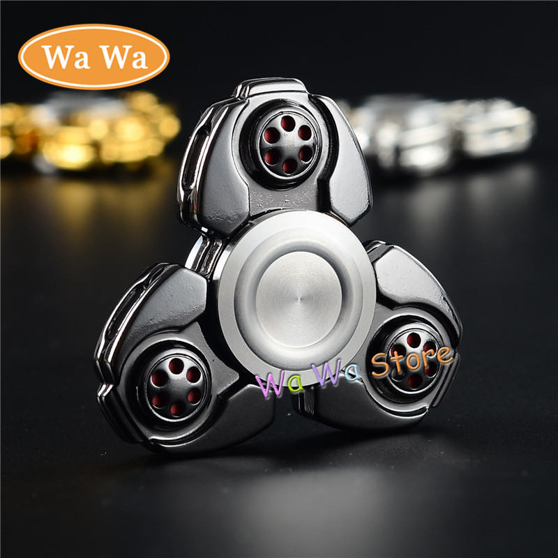 3 colors Hot sale product Hand Spinner Voor Stainless steel Fidget Spinner for autisme and adhd