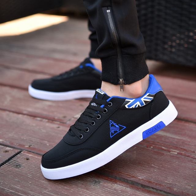 2018 new brand fashion spring and autumn new breathable men canvas shoes  trend sneakers Spell color 5fff3146caad