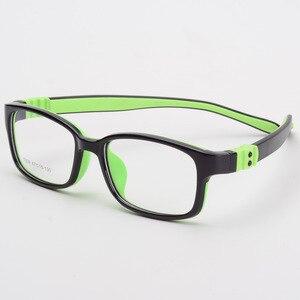 Image 5 - Optical Children Glasses Frame TR90 Silicone Glasses Children Flexible Protective Kids Glasses Diopter Eyeglasses Rubber 7009