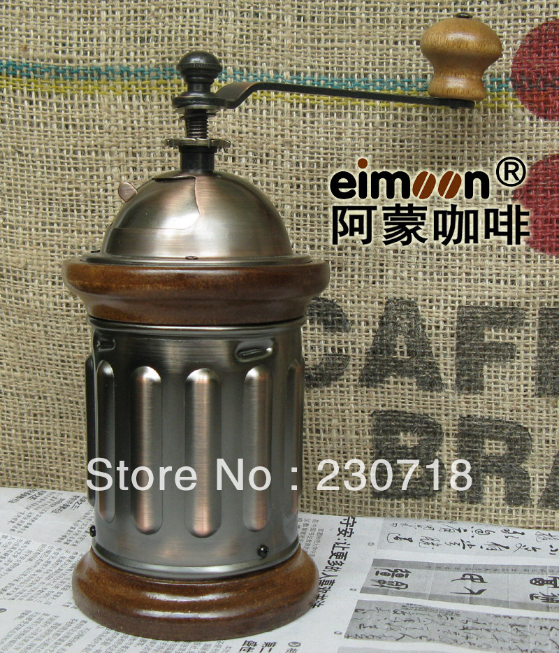 Coffee Akira A3 manual coffee grinder hand coffee grinder Solid wood - wood coffee beans hand cast iron core grinder