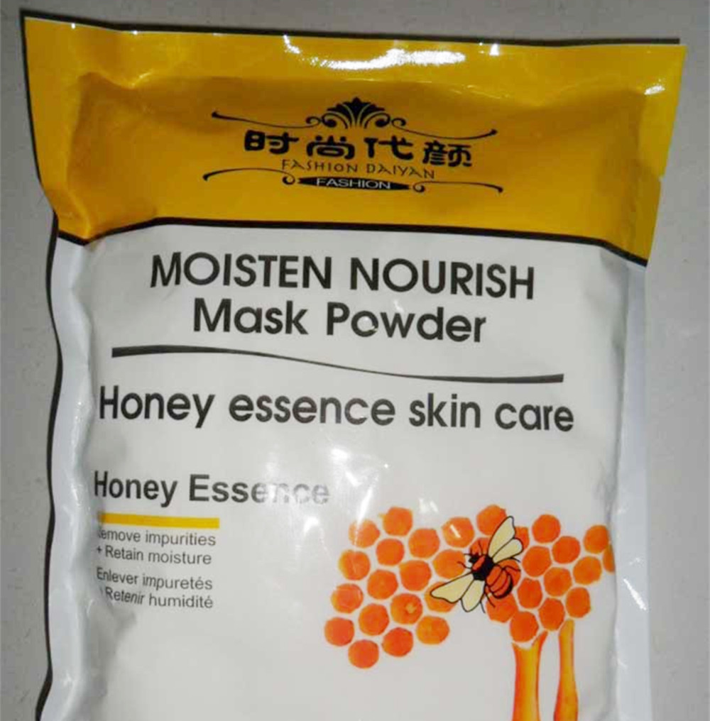 1000g Honey Essence Soft Mask Powder For Face 1kg Firming Moisturizing Face Anti Aging Agelss  Free Shipping Beauty Products 5 choics 1kg moisturizing anti aging red wine grape seed rose lavender mask powder for face neck hand beauty salon spa products
