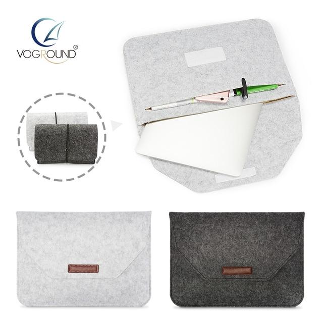 VOGROUND новые мягкие рукава сумка чехол для Apple MacBook Air Pro Retina 11 12 13 15 ноутбука Touch Bar Обложка Mac book 13,3 дюймов