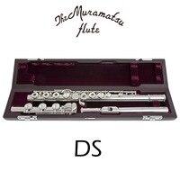 Мурамацу DS C мелодия флейты 17 клавиш отверстия открытым флейта посеребренные с случае E механизм Flauta
