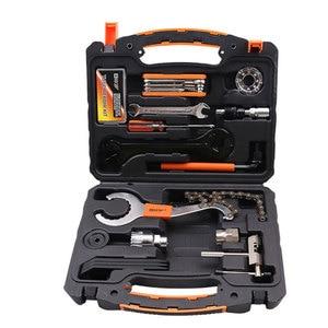 Image 2 - Cyrusher 26 in 1 Mountain Bike Toolbox Sets Tire Repair  Repair Tool Kits Sets bicycle Universal Home Outdoor Tools