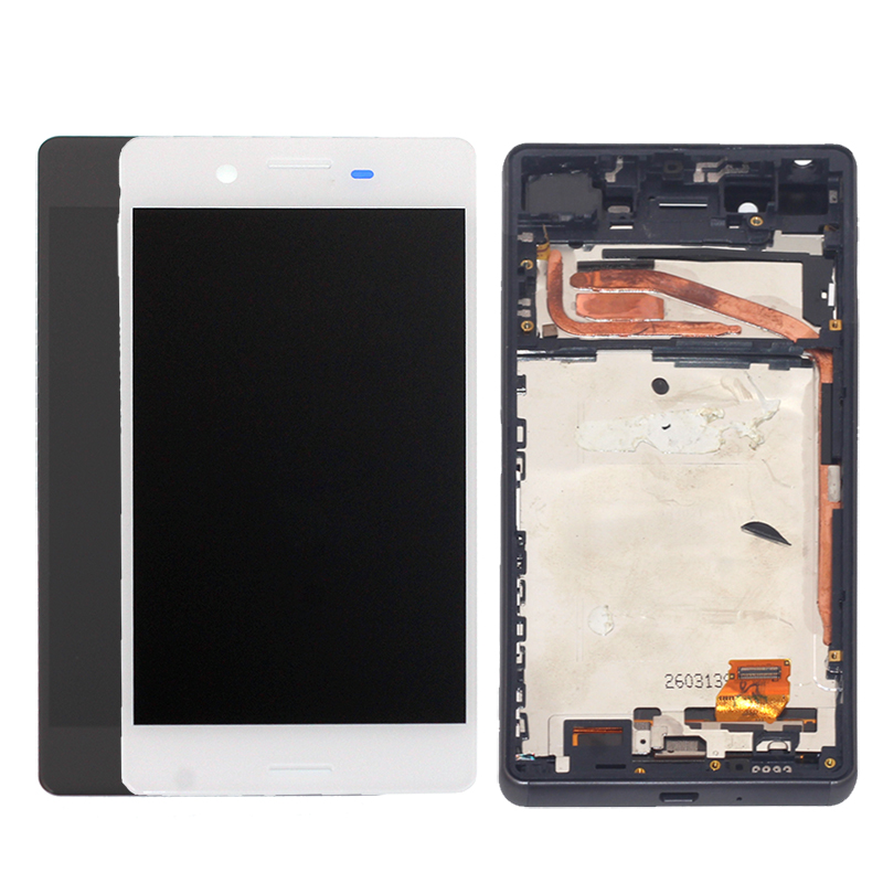Image 2 - For Sony Xperia XP F8131 F8132 LCD Monitor Accessories + Frame for Sony Xperia X High Performance LCD Display Digitizer Kit-in Mobile Phone LCD Screens from Cellphones & Telecommunications