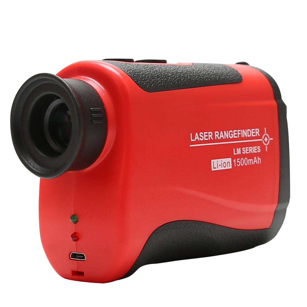Telescope Laser Rangefinder UNIT LM1200 1200M monocular telescope hunting outdoor speed tested lase
