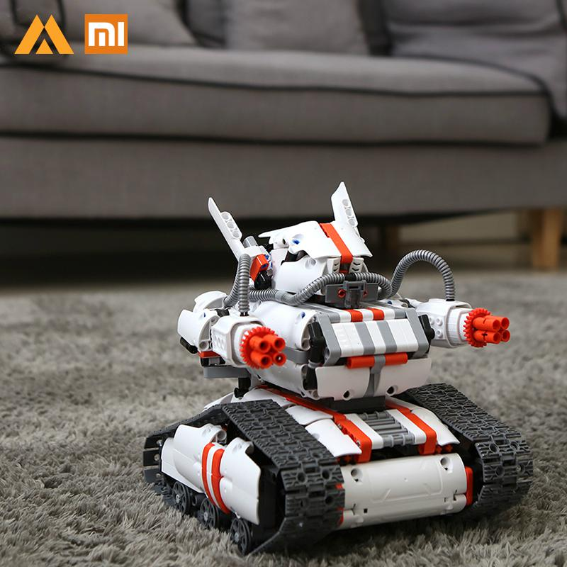 Xiaomi MITU Robot Builder DIY Building Blocks Bluetooth 4 0 Programmable Smart Track Robot Kit APP