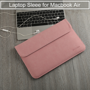 Image 3 - Notebook Sleeve Bag for Macbook 13.3 inch Huawei Matebook D Xiaomi Surface Pro 6 Laptop Bag 12 Pro 13 15 inch Women Men 14 15.4