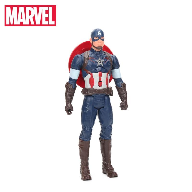 Marvel Toys 26-30cm Electronic ULTIMATE Spider-Man Captain America - Խաղային արձանիկներ - Լուսանկար 3