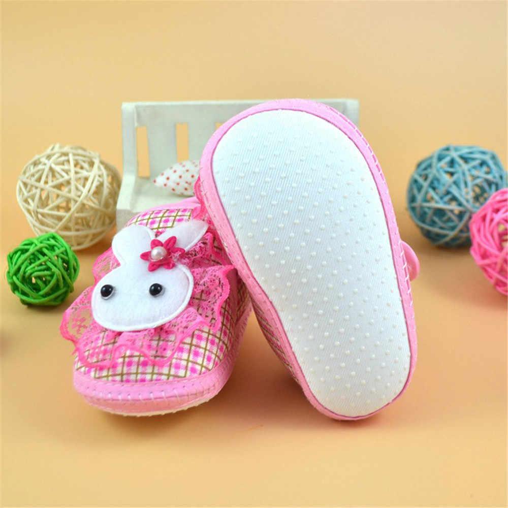 LONSANT תינוקת Bowknot גדילים פאייטים נעלי יילוד ילדה ילד ורוד רך בלעדי פעוט בעריסה בד Sneaker
