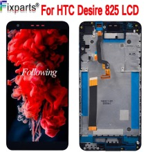 цены NEW For HTC Desire 825/10 Lifestyle LCD Display Touch Screen Digitizer Assembly With Frame Replacement For HTC 825 LCD