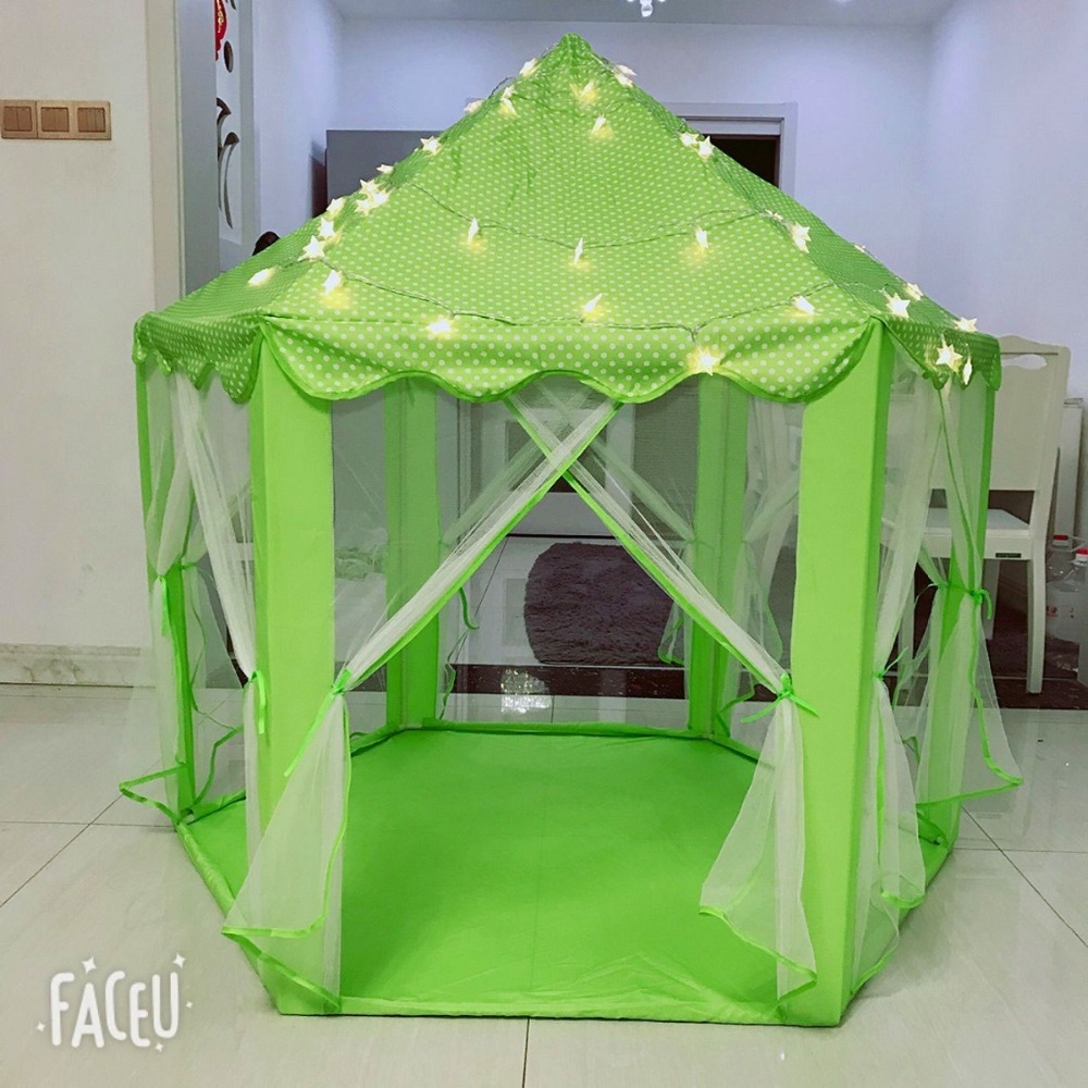 Play Tent for Kids Baby Ball Pool Tipi Tent Children Play House Boy Girl Princess Castle Indoor Outdoor Chidren Gifts beach tent (11)