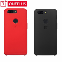 Original ONEPLUS 5T Case Silicon Soft Back Cover Bags Protective Case For Oneplus Smartphone