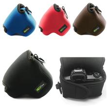 цена на Portable Protective Neoprene Soft Camera Case Bag for  Fujifilm XT200 X-T200 XT100 X-T30 X-T20 X-T10 XE3 with XC15-45mm Lens