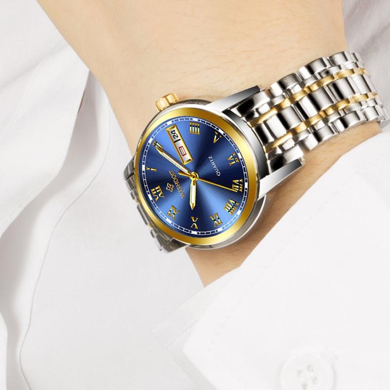 WISIODOIT luksusowa marka zegarka kobiet mody złote zegarki damskie - Zegarki damskie - Zdjęcie 4