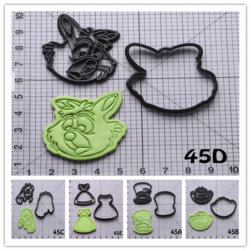 Elephant Animal Shape #1 Cookie Fondant Cutter 5cm 7cm 10cm Set Cake Decorating