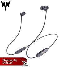 J2 Bluetooth наушники Беспроводной Магнитная шейные наушники Handsfree Спорт стерео наушники для samsung Xiaomi с микрофоном