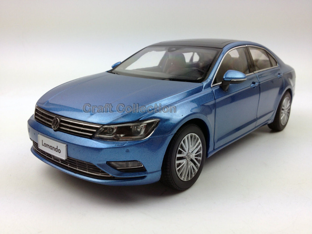 * New Blue 1:18 Volkswagen VW Lamando 2015 Diecast Model Car Classical Sedan Collection Several Colors