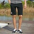 Pioneer camp 2017 nueva moda de verano de cortocircuitos ocasionales de la playa de los hombres pantalones delgados de punto masculinos pantalones cortos pantalones cortos 677018