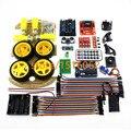 Bluetooth Controlado Coche Robot Kits de toneladas de los códigos libres publicados UN R3 MEGA328P Para Arduino Robot Sensor de Consejos de Desarrollo
