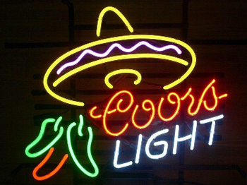 Coors Light Cayenne Cushaw Neon Light Sign Beer Bar
