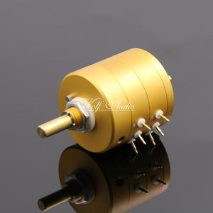 Image 5 - New 24 Steps Dual Channel Serial Type Volume Potentiometer Vishay Dale Resistors For Amplifier