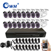 CWH 16 Channel DVR System AHD Video Surveillance Kit Outdoor CCTV Videcam Security Camera System For