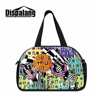 Dispalang Organized Unisex Duffle Bag Portable Travel Bag+Independent Shoe Unit Overnight Bag Travel Luggage For Women Handbag