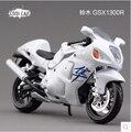 Suzuki Hayabusa GSX1300R speed King Maisto 1:12 мотоцикл моделирование сплава модели автомобиля белый Игрушка бесплатная доставка