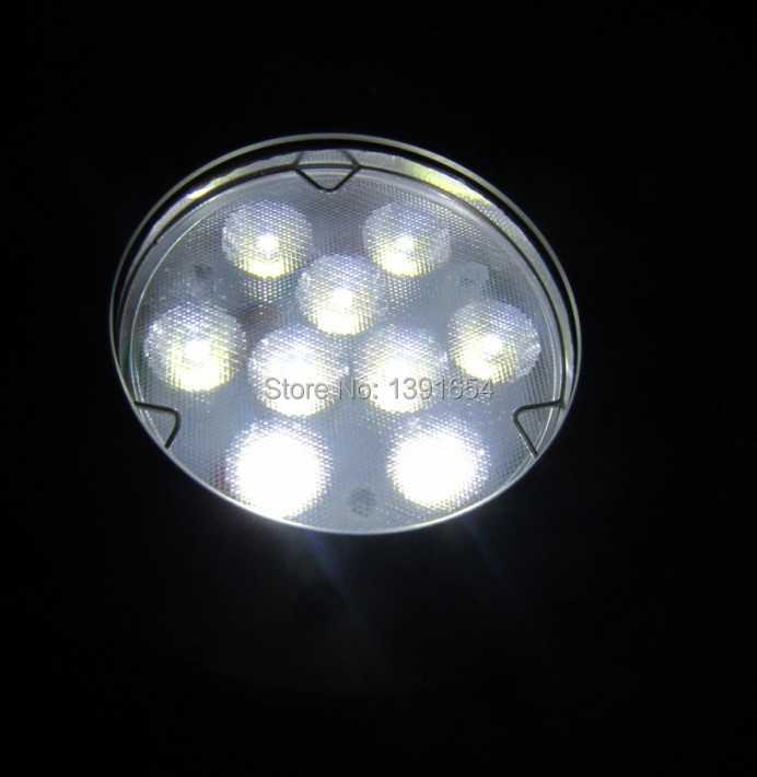 316 Stainless Steel Ip68 27w 24v Recessed Underwater Led