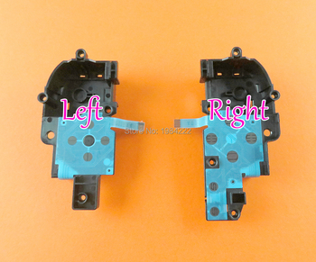 Replacement L R Right & left Conductive Film Key Button Ribbon Flex Cable with Bracket For Wii u WIIU Pad Controller
