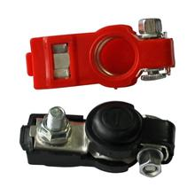 6-12V полюсные клеммы автомобильного аккумулятора в черном и красном цветах разъем 2x батареи быстросъемные зажимы