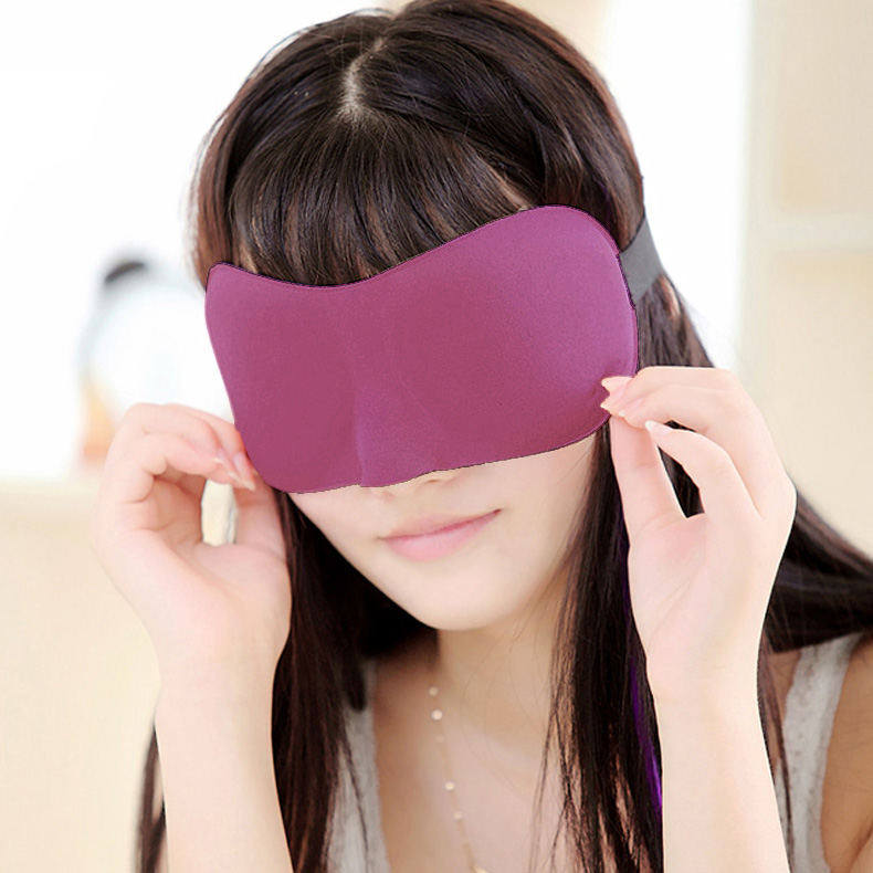 5 Colors 3D Comfort Sleep Rest Eye Mask Padded  Shade  Cover Travel Relax Aid Blindfolds Eye Comfort Care Beauty Tool  EK-New