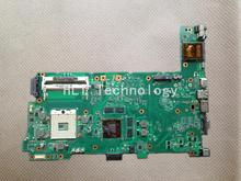 Original laptop Motherboard For ASUS N73JG N73JF REV:2.1 with 2 Memory slot i3 i5 CPU non-integrated graphics card 100% tested